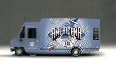 [MODE - EVENEMENT] Adidas: Americana Foot Truck - Openminded le blog