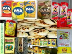 Harina para hacer arepas PAN y otras Venezuela