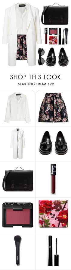 """""""Duster coat"""" by eleniger ❤ liked on Polyvore featuring Brandon Maxwell, Zimmermann, Alexander Wang, Yves Saint Laurent, NARS Cosmetics, Jo Malone, Chanel and Givenchy"""