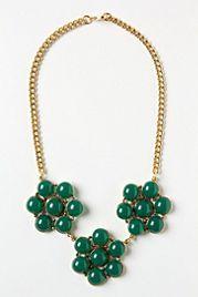 Byzantine Floral Necklace