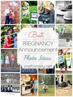 Best Pregnancy Announcement Ideas #pregnancy