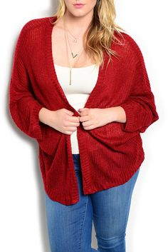 DHStyles Women's Burgundy Plus Size Trendy Sheer Knit Open Front Cardigan Top - 1X Plus #sexytops #clubclothes #sexydresses #fashionablesexydress #sexyshirts #sexyclothes #cocktaildresses #clubwear #cheapsexydresses #clubdresses #cheaptops #partytops #partydress #haltertops #cocktaildresses #partydresses #minidress #nightclubclothes #hotfashion #juniorsclothing #cocktaildress #glamclothing #sexytop #womensclothes #clubbingclothes #juniorsclothes #juniorclothes #trendyclothing #minidresses…