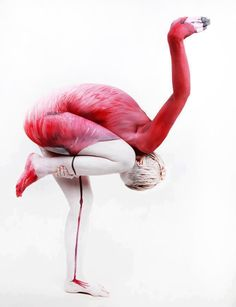 Amazing illusion with body paint.