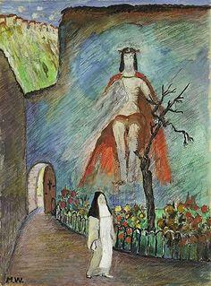Marianne von Werefkin, Klostergarten, 1926