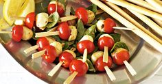 Finger food that's tastes and looks amazing, yet is good for you!