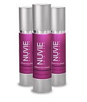 NuVie Firming Serum and Nulexa used together are supposed to knock years off of your appearance. Both contain Pepha-Tight and Hyaluronic Acid. Pepha-Tight firms your skin and Hyaluronic Acid holds in moisture. After you wash and dry your face apply a light coat of NuVie Firming Serum, gently pat Nulexa around your eyes before bed. This was featured on Dr Oz and I guess the results are very quick and will make you look up to 20 years younger. I am definitely going to try this!