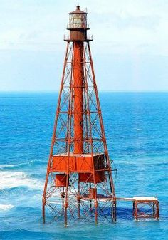 The Sombrero Key Light is the tallest of its kind in the state of Florida