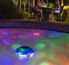Underwater Starship Swimming Pool Light