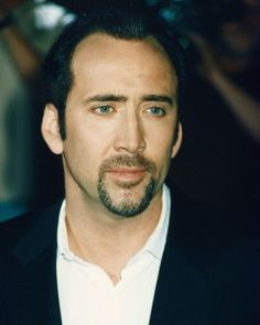 Nicholas Cage.. his mouth pisses me off. STOP PURSING YOUR LIPS LIKE ANGELINA JOLIE