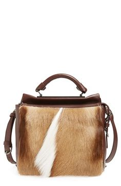 2df2fc0700ff Free shipping and returns on 3.1 Phillip Lim 'Small Ryder' Fur Satchel at  Nordstrom