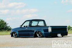 1987 Mazda B2200 - Grindin' - Mini Truckin' Magazine-- I love this Mazda! Can't wait till mine is done!