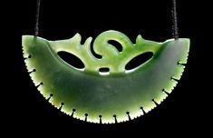 Medium: pounamu (New Zealand jade). Hawaiian Tribal Tattoos, Samoan Tribal Tattoos, Maori Tattoos, Wax Carving, Bone Carving, Cross Shoulder Tattoos, Polynesian Art, Cross Tattoo For Men, Maori Designs