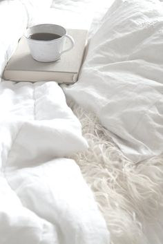 Comfy bed, coffee and a good book!  Nothing beats that!  www.saugeenteam.com