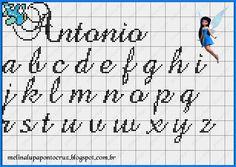 Bom dia queridas, compartilhando lindos monogramas da talentosa Melina Lupo que sempre nos encanta com seus dons e talentos, obrigada , qu...