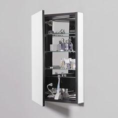 "Found it at Wayfair - PL Series 19.25"" x 39.38"" Mirrored Recessed Medicine Cabinet"