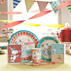Christian Snoopy  party supplies