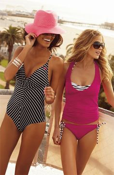 swimsuits- I like the pink