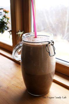 Raw Chocolate Dateorade Milkshake. Probably needs more bananas!