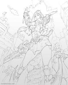 ArtStation - Commander, Yu Cheng Hong