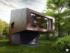 Forest Library by Lukas Sztukowski, via Behance