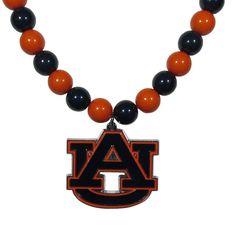 Auburn Tigers Fan Bead Necklace CFBN42