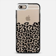 Wild Black Leopard Transparent iPhone 6 Metaluxe Case by Organic Saturation | Casetify Get $10 off using code: 53ZPEA
