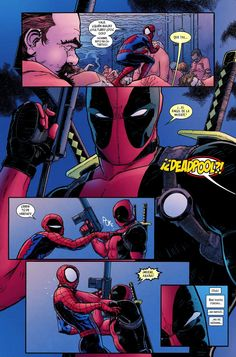 Spideypool Comic, Spaider Man, Deadpool, Avengers, Marvel Dc, Fangirl, Fandoms, Lol, Superhero