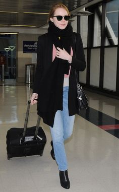 Emma Stone from The Big Picture: Today's Hot Pics  The adorable actress travels solo in Los Angeles.