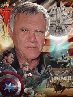 Joe Johnston, Over The Years, Gifts For Friends, Portrait, Illustration, Movie Posters, Fictional Characters, Art, Art Background