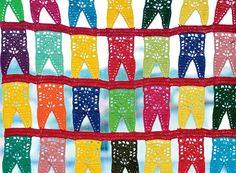 Cortina | As bandeirinhas, símbolo da festa de São João – tradição nordestina que, em Campina Grande, tem duração de mais de um mês –, aparecem na maioria dos itens (Foto: Antonio Ronaldo/Editora Globo)