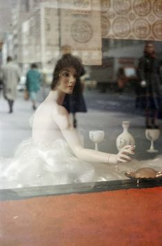 Saul Leiter Menu, Paris 1959