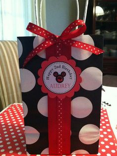 Mickey Mouse Favors Bag