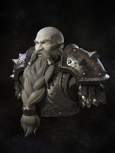 #warcraft #dwarf #nain #muradin #bronzebeard