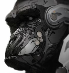 Cyborg Gorilla and Lemur Art — GeekTyrant