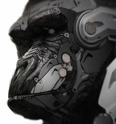 Cyborg Gorilla and Lemur Art — GeekTyrant