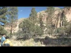 Travel Guide New Mexico  Bandelier National Monument Los Alamos New Mexico
