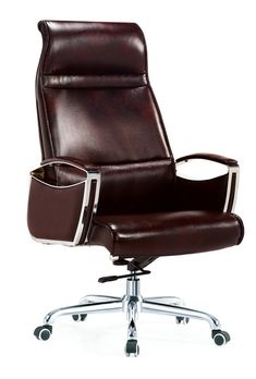 Leather Swivel Chair, Executive Office Chairs, Chair Height, Mesh Office Chair, Office Set, Modern Chairs, Tilt, Office Furniture, Black Leather