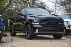 David Boatwright Partnership: 2018 RAM Sport Regular cab in stock finished in Black. Litre Hemi with 8 speed automatic. Dropped Trucks, Lowered Trucks, Ram Trucks, Dodge Trucks, Dodge Ram Sport, American Pickup Trucks, 2018 Ram, New Dodge, Tacoma Truck