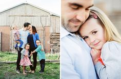 Family Photography Ideas/look I want to achieve. close, posed but natural. Cheerful colors.