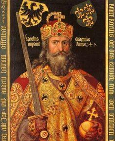 Povos Germanos: Carlos Magno: entre a cruz e a espada