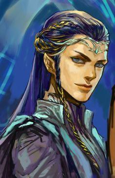 Fingon... oh wow, she's pretty... ;)