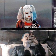 This is cute considering the fact that The Joker has called her pumpkin pie before. Joker And Harley Tattoo, Harley And Joker Love, Harley Tattoos, Joker And Harley Quinn, Harely Quinn And Joker, Harly Quinn Quotes, Hearly Quinn, Harley Quinn Drawing, Joker Poster