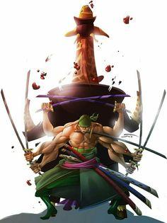 Roronoa Zoro by ZeyJin on DeviantArt Zoro One Piece, One Piece Comic, One Piece Anime, Roronoa Zoro, Luffy Gear 4, One Piece Photos, One Piece Wallpaper Iphone, 0ne Piece, Anime Manga