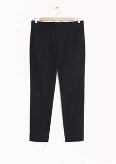 & Other Stories image 1 of Tailored Trousers in Black