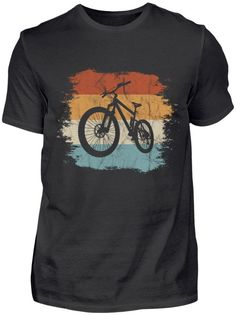 Retro Vintage Biking MTB Mountain-Bike - Candice Home Cycling T Shirts, Bike Shirts, Retro Vintage, Cool Shirt Designs, Shirt Print Design, Retro Shirts, Fishing Shirts, Sport T Shirt, Printed Shirts