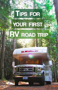 Tips for Your First RV Road Trip
