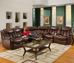 564 3 Piece Reclining Sectional by Franklin