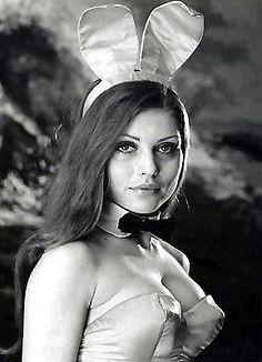 Debbie Harry as a Playboy bunny