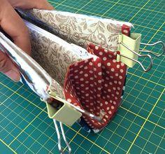 Frame Accordion Wallet ~ DIY Tutorial Ideas!