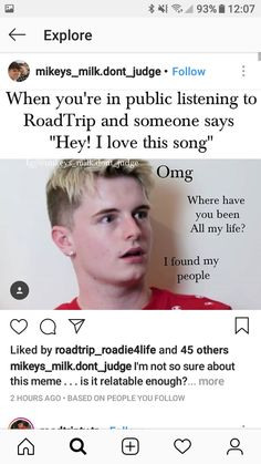 Road Trip Meme, Road Trip Uk, Tv Funny, Funny Texts, Roadtrip Boyband, Tv Memes, Why Dont We Boys, Boyfriend Goals, Teen Posts